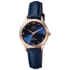 Zegarek Q&Q Damski QZ05-102 Klasyczny Cyrkonie. Szare zegarki damskie Q&Q. Za 158,68 zł.