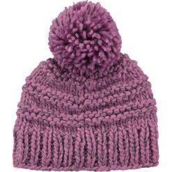 Barts - Czapka Jasmin Beanie azalea. Fioletowe czapki zimowe damskie Barts, na zimę, z dzianiny. W wyprzedaży za 69,90 zł.