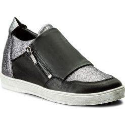 Sneakersy SENSO - RTO-3 Czarny/Pył Srebro. Czarne sneakersy damskie Senso, ze skóry. W wyprzedaży za 219,00 zł.