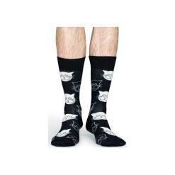 Skarpetki Happy Socks  MJA01-9000. Czerwone skarpetki męskie marki DOMYOS, z elastanu. Za 24,43 zł.