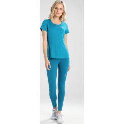 ODLO CREW NECK  Tshirt basic crystal teal. Niebieskie t-shirty damskie Odlo, m, z poliesteru. Za 129,00 zł.
