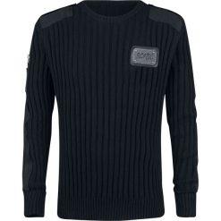 AC/DC EMP Signature Collection Bluza czarny. Czarne bluzy męskie rozpinane AC/DC, xl, z aplikacjami. Za 264,90 zł.