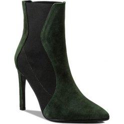Botki EVA MINGE - Marisol 2C 17BL1372253EF 215. Czarne buty zimowe damskie marki Eva Minge, z materiału, na obcasie. Za 649,00 zł.