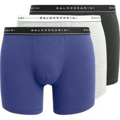 Baldessarini 3 PACK Panty black/grey melange/blue. Niebieskie bokserki męskie marki Baldessarini, z bawełny. Za 169,00 zł.