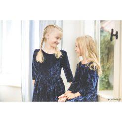 Sukienki dziewczęce: Sukienka welurowa