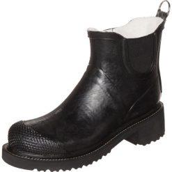 Ilse Jacobsen Kalosze black. Czarne buty zimowe damskie Ilse Jacobsen, z bawełny. Za 549,00 zł.
