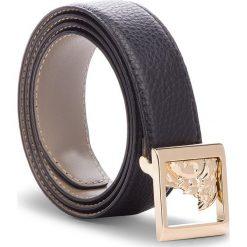 Pasek Damski VERSACE COLLECTION - LCD0293 LALHL L410 85 Nero. Czarne paski damskie Versace Collection, w paski, ze skóry. W wyprzedaży za 609,00 zł.