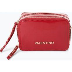 Valentino - Damska torebka na ramię, czerwony. Czerwone torebki klasyczne damskie marki Valentino, z lakierowanej skóry, małe, lakierowane. Za 449,95 zł.