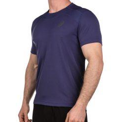 Asics Koszulka męska Race Top fioletowa r. XL (1299088133). Szare koszulki sportowe męskie marki Asics, z poliesteru. Za 113,38 zł.