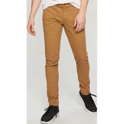 Rurki męskie: Spodnie chino skinny - Beżowy