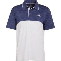 Adidas Golf ULTIMATE 365 POLO LEFT CHEST Koszulka sportowa noble indigo heather/ash blue heather. Niebieskie koszulki sportowe męskie adidas Golf, m, z elastanu, na golfa. Za 269,00 zł.