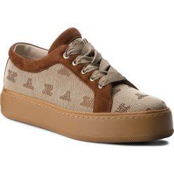 Sneakersy MAXMARA - MM90 45267387600 Cammello/Cuoio 001. Brązowe sneakersy damskie MaxMara, z materiału. Za 1639,00 zł.