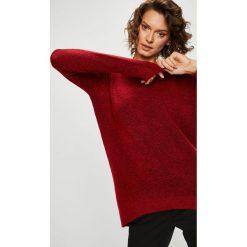 Medicine - Sweter Basic. Szare swetry klasyczne damskie MEDICINE, l, z dzianiny, z okrągłym kołnierzem. Za 99,90 zł.