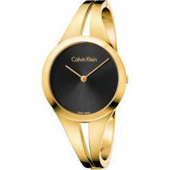 ZEGAREK CALVIN KLEIN ADDICT K7W2M511. Czarne zegarki damskie Calvin Klein, szklane. Za 1449,00 zł.