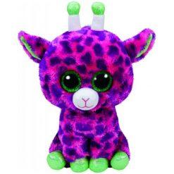 Przytulanki i maskotki: TY Maskotka Beanie Boos Gilbert – Różowa Żyrafa, 24 Cm