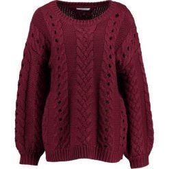 Swetry klasyczne damskie: Glamorous Sweter burgundy