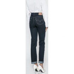 Levi's - Jeansy 712. Brązowe jeansy damskie marki Levi's®, z bawełny. Za 299,90 zł.