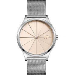 Lacoste - Zegarek 2001042. Szare zegarki damskie Lacoste, szklane. Za 729,90 zł.
