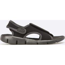 Nike Kids - Sandały dziecięce Sunray. Czarne sandały chłopięce Nike Kids, z materiału. Za 129,90 zł.