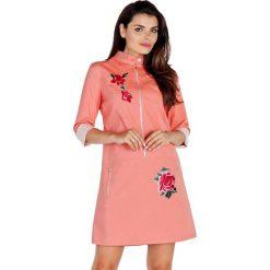 Sukienki hiszpanki: Sukienka w kolorze pomarańczowym