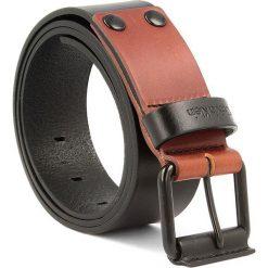 Pasek Męski CALVIN KLEIN - Julien Belt 90 K50K502295 001. Czarne paski męskie Calvin Klein, w paski, ze skóry. W wyprzedaży za 199,00 zł.
