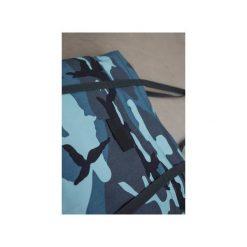 Wygodna Duża Torba na Ramię BLUE Moro Bawełna. Niebieskie torebki klasyczne damskie CADOaccessories, moro, z bawełny, duże. Za 99,00 zł.