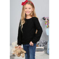 Czarny Sweter Dziecięcy  NDZ36122. Białe swetry dziewczęce marki Reserved, l. Za 44,25 zł.