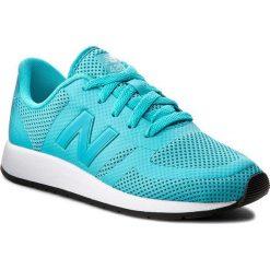 Sneakersy NEW BALANCE - KFL420UG Niebieski. Niebieskie trampki chłopięce New Balance, z materiału, na sznurówki. W wyprzedaży za 199,00 zł.