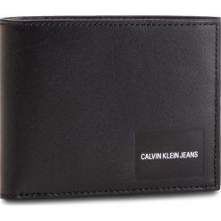 Duży Portfel Męski CALVIN KLEIN JEANS - Coated Canvas Billfold W Coin K40K400836 001. Czarne portfele męskie marki Calvin Klein Jeans, z jeansu. Za 279,00 zł.