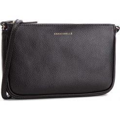 Torebka COCCINELLE - CV3 Mini Bag E5 CV3 55 E1 07 Noir 001. Czarne listonoszki damskie Coccinelle, ze skóry. W wyprzedaży za 489,00 zł.