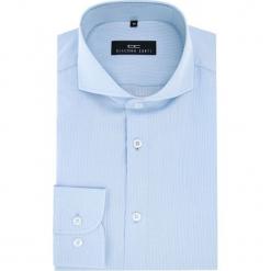 Koszula IGNAZIO 16-04-15. Szare koszule męskie na spinki marki S.Oliver, l, z bawełny, z włoskim kołnierzykiem, z długim rękawem. Za 199,00 zł.