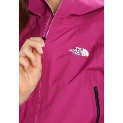 The North Face SHINPURU  Kurtka hardshell wild aster purp. Różowe kurtki sportowe damskie marki The North Face, m, z nadrukiem, z bawełny. W wyprzedaży za 876,85 zł.