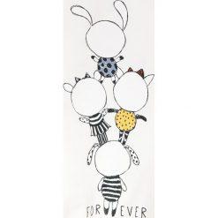 Bluzki dziewczęce bawełniane: Name it - Bluzka dziecięca Daxine 92-128 cm