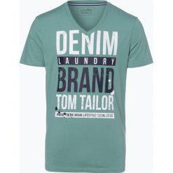 T-shirty męskie: Tom Tailor Denim - T-shirt męski, zielony