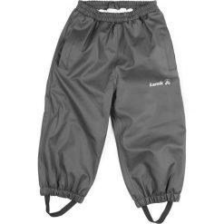 Spodnie niemowlęce: Spodnie przeciwdeszczowe w kolorze szarym
