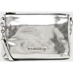 Calvin Klein - Torebka Fold. Szare torebki klasyczne damskie Calvin Klein. Za 449,90 zł.