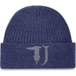 Akcesoria męskie: Czapka TRUSSARDI JEANS - Hat Knitted Needled Logo 57Z00063 U280