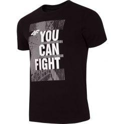 T-shirty męskie z nadrukiem: T-shirt męski TSM013 – głęboka czerń