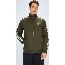 Adidas Originals - Kurtka. Szare kurtki męskie bomber adidas Originals, l, z bawełny. W wyprzedaży za 279,90 zł.