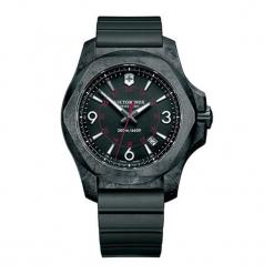 """Zegarek """"241777"""" w kolorze czarnym. Czarne zegarki męskie Victorinox, sztuczne. W wyprzedaży za 2099,95 zł."""