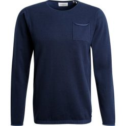 Swetry klasyczne męskie: Lindbergh Sweter dark blue