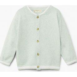 Swetry chłopięce: Mango Kids – Kardigan dziecięcy Wave 80-104 cm