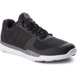 Buty Reebok - Sprint Tr CN4899 Black/Shark/White. Szare buty do biegania damskie marki Reebok, z materiału. W wyprzedaży za 229,00 zł.