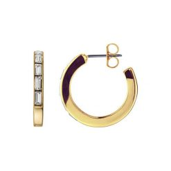 Biżuteria i zegarki: Kolczyki w kolorze złotym z kryształami Swarovski