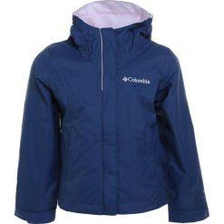 Columbia ARCADIA  Kurtka hardshell carbon/whitened pink. Niebieskie kurtki dziewczęce marki Columbia, z hardshellu, outdoorowe. W wyprzedaży za 206,10 zł.