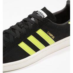 Adidas Originals CAMPUS Tenisówki i Trampki core black/semi solar slime/offwhite. Szare tenisówki damskie marki adidas Originals, z gumy. W wyprzedaży za 377,10 zł.