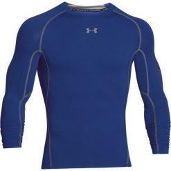 Odzież termoaktywna męska: Under Armour Koszulka męska HeatGear Compression Longsleeve niebieska r. M (1257471-400)