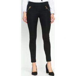 Spodnie damskie: Czarne Legginsy Every Day
