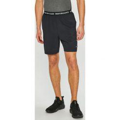 Calvin Klein Performance - Szorty. Czarne spodenki sportowe męskie Calvin Klein Performance, l, z elastanu. Za 179,90 zł.