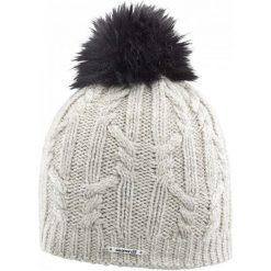 Salomon Czapka Damska Ivy Beanie Natural. Szare czapki zimowe damskie Salomon, na zimę, z wełny. W wyprzedaży za 135,00 zł.
